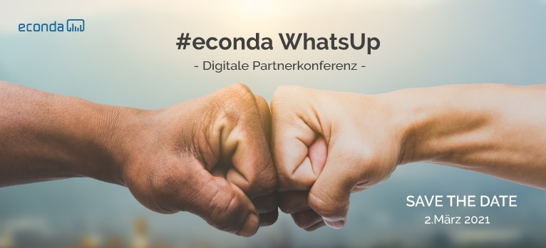 #econda WhatsUp1 – digitale Partnerkonferenz -